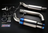 Tomei Expreme Ti Titanium Muffler 09+ Nissan 370Z VQ37VHR