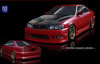Origin Toyota Chaser Stream Line Full Aero Kit - JZX100