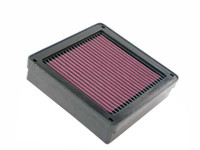 K&N Panel Replacement Filter - 03-07 Mitsubishi Evolution 8/9,X