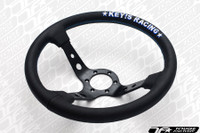 KEY'S RACING Deep Type Steering Wheel (330mm/Leather)