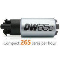 DeatschWerks DW65c Compact In-Tank Fuel Pump w/o Mounting Clips - 08-15 Mitsubishi Evolution X