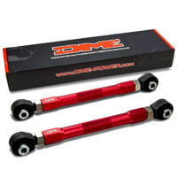 DME Red Powder Coated Adjustable Rear Lower Arm - 08-14 Mitsubishi Evolution X