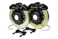 Brembo GT Black Drilled Big Brake Kit 380x32mm - 08-15 Mitsubishi Evolution X 4B11