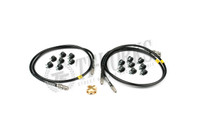 GKTECH S13 S14 S15 Stainless Steel Braided Teflon ABS Delete Kit