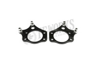 GKTECH S-chassis Dual Caliper Brackets to Suit Wilwood Caliper (pair)