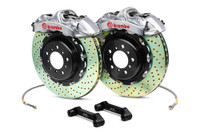Brembo Silver Front Drilled GT Big Brake Kit  - 93-95 Mazda RX-7
