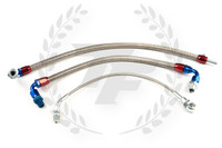P2M Nissan RB25DET Turbo Line Kit - S13 / S14 / R32