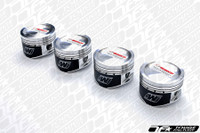 Wiseco Forged Pistons Evo X 4B11T 87.0 Bore 9:1 Compression