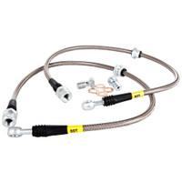 Stoptech Stainless Steel Rear Brake Lines - 08-14 Subaru Impreza WRX