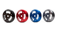 Grimmspeed Red Lightweight Crank Pulley - 2013+ Scion FR-S & Subaru BRZ, 2015+ Subaru Impreza WRX