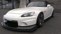 Voltex Wide Rear Fenders - 00-09 Honda S2000 AP2