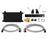 Mishimoto Black Thermostatic Oil Cooler Kit - 08-13 Infiniti G37, 09-15 Nissan 370Z