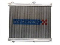 Koyo Aluminum Racing Radiator High Density Core 48mm - 86-88 Mazda RX-7 Early FC Chass
