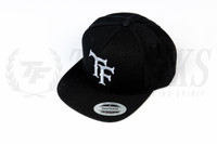 """TF"" Snapback Hat - Black"