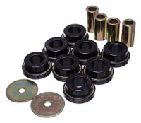 Energy Suspension Black Sub-Frame Bushing Set - 2015 Ford Mustang GT