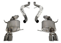 CORSA Sport Cat-Back Exhaust System- Black Tips - 08-12 BMW E92