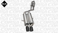 CORSA Sport Cat-Back Exhaust System - Black Tips - 92-99 BMW E36 M3/325i/is