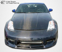 Carbon Creations 1 Piece OEM Hood -  03-06 Nissan 350Z