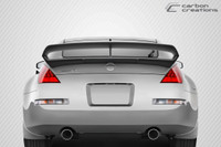 Carbon Creations 1 Piece N-3 Wing Trunk Lid Spoiler - 03-08 Nissan 350Z