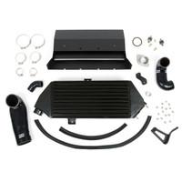 Grimmspeed Black Thermal Dispersant Top Mount Intercooler Kit - Subaru 08-14 WRX