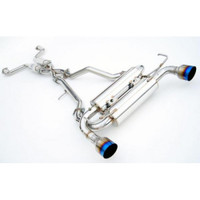 Invidia Gemini Single Layer Cat-Back Exhaust System with Titanium Tip - 03-06 Infiniti G35