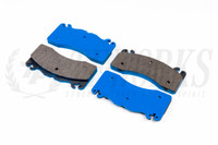 G-LOC R10 Front Brake Pads - S550 Ford Mustang GT w/ 6 Piston Brembo