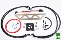 Radium Engineering Fuel Surge Tank Install Kit - 03-06 Mitsubishi EVO 8/9