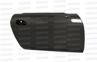 Seibon SC-Style Carbon Fiber Doors (Pair) - 00-10 Honda S2000