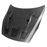 Seibon GTII-Style Carbon Fiber Hood - 09-15 Nissan GTR R35