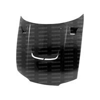 Seibon JU-Style Carbon Fiber Hood - 95-98 Nissan R33