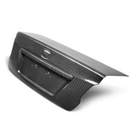 Seibon OEM-Style Carbon Fiber Trunk Lid - 15-16 Subaru WRX /STI