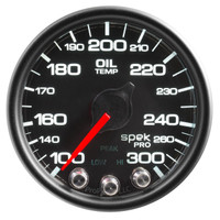 AutoMeter Spek-Pro Black - Oil Temp 52mm