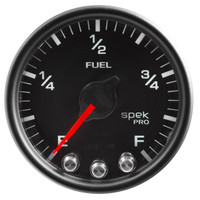AutoMeter Spek-Pro Black - Fuel Level 52mm