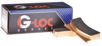 G-LOC R18 Rear Brake Pads - Nissan 240SX/300ZX/350Z/370Z/R35