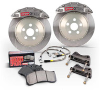 Stoptech Trophy 322x22mm Rear Slotted Big Brake Kit - S2000