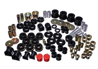 Energy Suspension Black Hyper-Flex Master Bushing Set - 15-17 Ford Mustang GT V8 5.0L