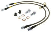 StopTech Stainless Steel Front Brake Lines - 15-17 Ford Mustang GT 5.0L V8