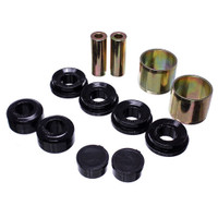 Energy Suspension Black Front Polyurethane Control Arm Bushing Set - 15-17 Ford Mustang GT V8