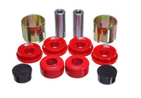 Energy Suspension Red Front Polyurethane Control Arm Bushing Set - 15-17 Ford Mustang GT V8
