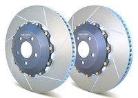 Girodisc Front 2pc Floating Rotors for S550 Mustang GT with Performance Package