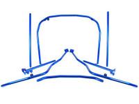 Cusco LM Roll Cage Dash Through 7 Points w/Harness Bar - 00-03 Honda S2000