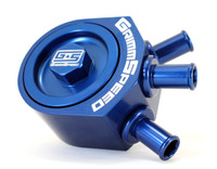GrimmSpeed Air/Oil Separator (BLUE) - Turbo 02-07 WRX / 04+ STi 078006B