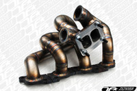 Full Race Nissan SR20DET Top Mount T3 Twin Scroll Manifold (S13 / S14 / S15)