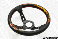 KEY'S RACING FOSSA MAGNA Deep Type Steering Wheel (330mm/Leather)