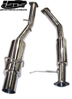 ISR Single GT Exhaust - Nissan 240SX S14 Catback
