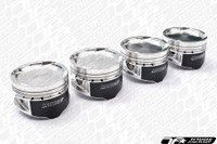 Manley Platinum Forged Pistons - Mitsubishi Evo 4B11T +.5mm 86.5mm (9.0:1 Compression)