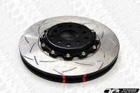 DBA 5000 T-Slot 2-Piece Rotor with Black Aluminum Hats - Evo X