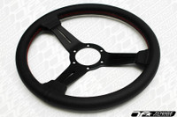 Nardi Classic Perforated Leather Black Spoke 330mm Steering Wheel