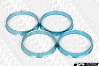 TF Aluminum Hubcentric Rings Scion FR-S & Subaru BRZ WRX STI (56mm x 60mm) - Work Wheels