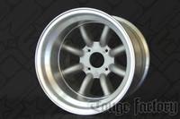 RS Watanabe R-Type Aluminum Racing Wheels 15x11 -38